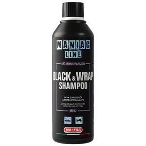Maniac black and wrap shampoo anticalcare