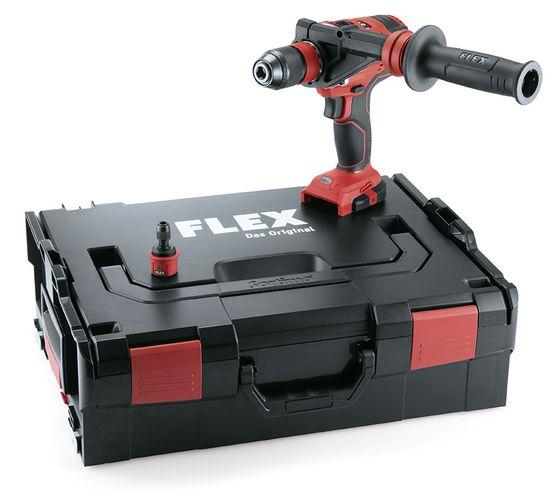 Trapano Avvitatore a batteria FLEX DD4G 18.0 EC con valigetta