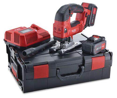 SET con Seghetto alternativo a batteria 18,0 V - JSB 18.0-EC/5.0