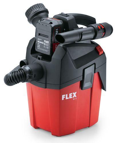 Aspiratore compatto FLEX a batteria VC 6L MC 18.0