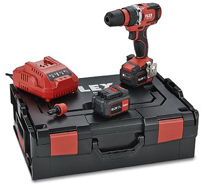 SET con Trapano Avvitatore a batteria FLEX DD 2G 10.8 EC/4.0