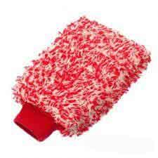 Guanto in microfibre con polsino elastico