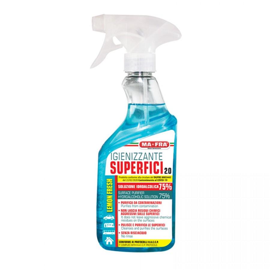 Mafra igienizzante superfici 75% 500ml