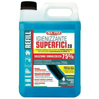 Mafra igienizzante superfici 75% 5 litri