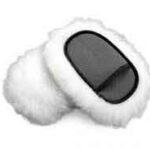 Guanto da lavaggio in lana merino