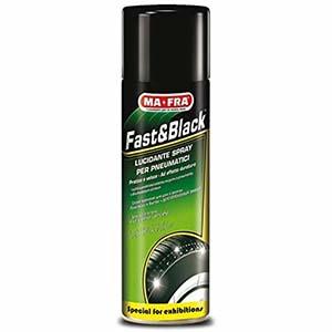 mafra nero gomme spray fast and black