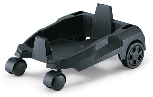 Carrello con ruote per aspiratore VC 6L